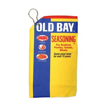 Old Bay Can / Golf Towel