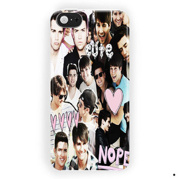 Logan Henderson Big Time Rush Cute Collage For iPhone 5 / 5S / 5C Case