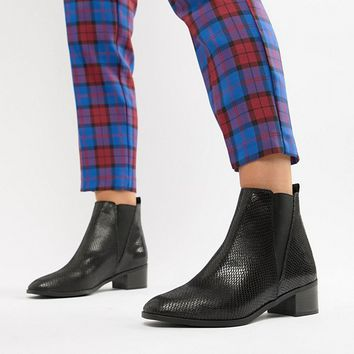 New Look Wide Fit Flat Chelsea Boot at asos.com