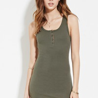 Ribbed Knit Tank Dress | Forever 21 - 2000160272