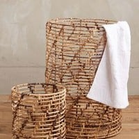 Helix Weave Baskets by Anthropologie in Natural Size: Set Of 2 House & Home