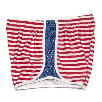 Kappa Kappa Gamma Shorts in Red, White and Blue by Krass & Co. - FINAL SALE