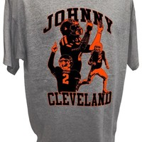 Mens Johnny Football Manziel Cleveland Browns Tee By Achtung T Shirt LLC