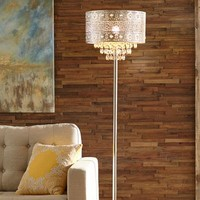 Bohemian Crystal Floor Lamp