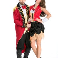 Couple Magician Cosplay Anime Cosplay Apparel Holloween Costume [9211508740]