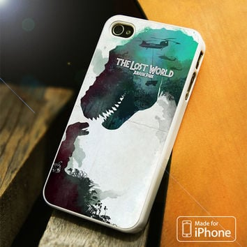The Lost World Jurassic Park iPhone 4S/5S/5C/SE/6S Plus Case