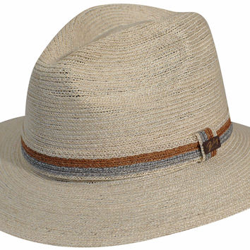 9e7f0bd2b2319 Bailey Tavion Abaca Straw Downturn from Levine Hat Co.