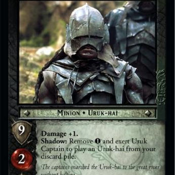 Lord of the Rings TCG - Uruk Captain - Mines of Moria