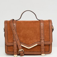 ASOS V-Bar Structured Satchel Bag at asos.com