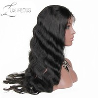 Luxurious Body Wave Lace Front Human Hair Wigs For Black Women Pre Plucked Brazilian Remy Hair With Baby Hair Bleached Knots