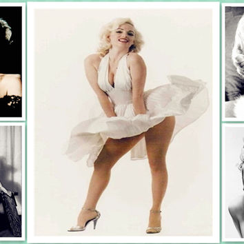 Needlework Diy Diamond Embroidery Marilyn Monroe 5D Diamond painting Square rhinestone