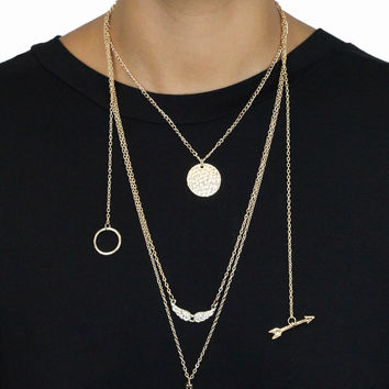 Ching a Ling Layered Necklace