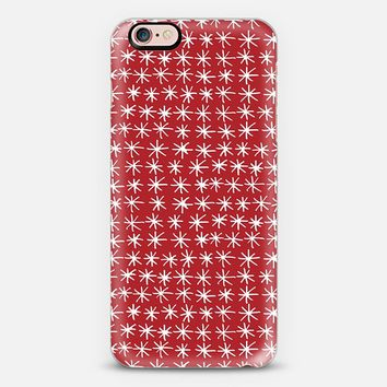 CAL STAR RED iPhone 6s case by Sharon Turner   Casetify