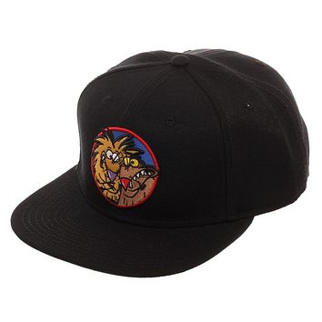 Mens Angry Beavers Hat Nickelodeon Snapback Hat