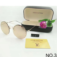 LV Louis Vuitton Delicate Female Fashion Premium Sunglasses F-8090-YJ NO.3