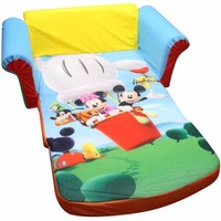 Marshmallow Furniture 2-in-1 Flip Open Sofa, Mickey Mouse Club House - Walmart.com