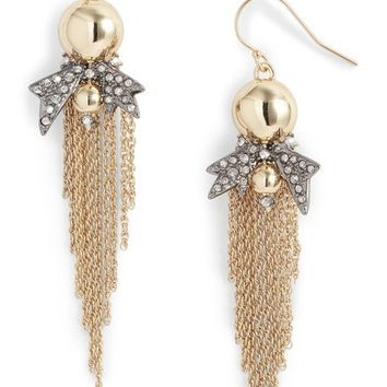 Alexis Bittar Gold Ball Drop Earrings | Nordstrom
