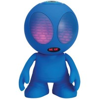 Supersonic SC-1453BT Blue Bluetooth(R) Alien Portable Speaker (Blue)