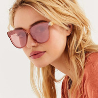 Hannah Translucent Cat-Eye Sunglasses | Urban Outfitters