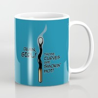 Smokin' Hot Mug by Artistic Dyslexia | Society6