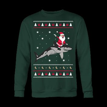 Shark Ugly Christmas Sweatshirt
