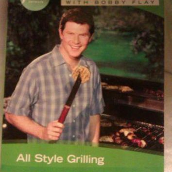 FOOD NETWORK BOY MEETS GRILL WITH BOBBY FLAY COLLECTION 3 DVD SET