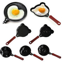 Cute Shaped Egg Mould Pans Lovely Mini Breakfast Egg Pans For Kids Egg Rings Cooking Tools