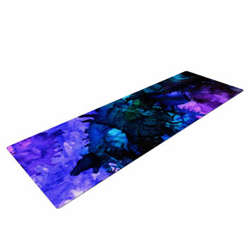 "Claire Day ""Soul Searching"" Blue Purple Yoga Mat"