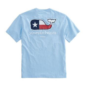 Texas Flag Whale T-Shirt
