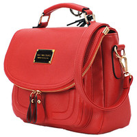 ROMWE | Candy Color Retro Rose Bag, The Latest Street Fashion