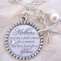 MOTHER of the BRIDE Gift Mother of the Groom by MyBlueSnowflake