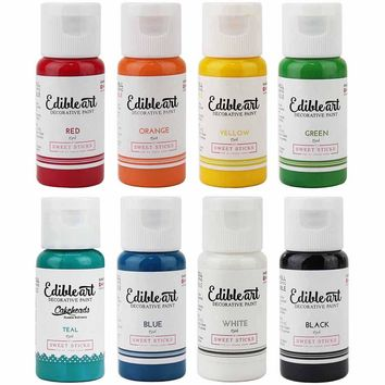 Rainbow Edible Paint Pack