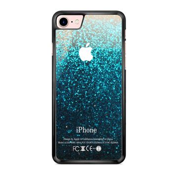Water Glitter iPhone 7 Case