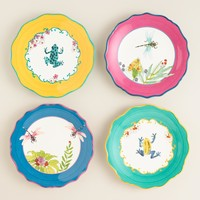 Fiji Plates, Set of 4