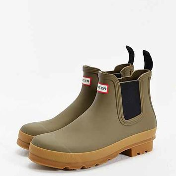 Hunter Original Chelsea Gumsole Boot- Khaki