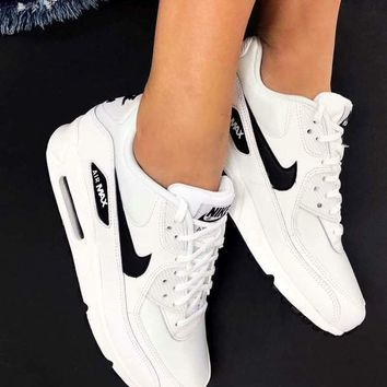 Nike Air Max 90 Unisex Sport Casual Fashion Air Cushion Sneakers.