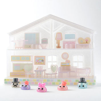 Hoppe-chan Sticker and Furniture Limited Edition House Set
