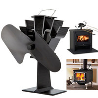 Eco-friendly Heat Powered Stove Fan for Wood Gas Pellet Stoves Ecofan SF-112 Free Shipping