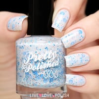 Pretty & Polished Ice Ice Lady Nail Polish