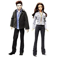 Twilight Bella and Edward Barbie Pink Label Collection Dolls - Set of 2