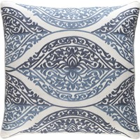 Regina Throw Pillow Blue