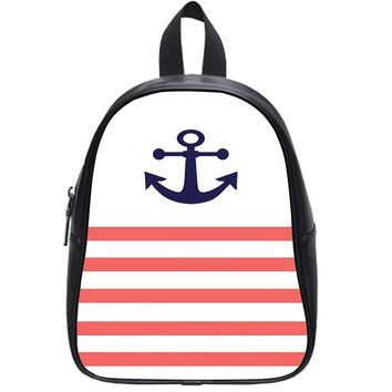 Anchor (Stripes) School Backpack Large