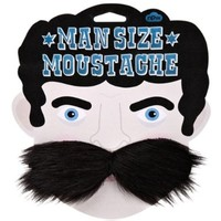 Huge Man Size Fake Moustache Disguise