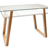 Bonvivo Designer Desk Massimo, Modern Secretary In A Contemporary Design