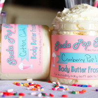 ♥CUSTOM PRODUCT: Soda Pop Shop Collection Body Frosting 8oz (12 Different Scents)