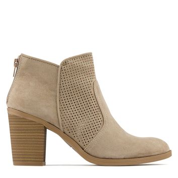 Dolce Vita Jiffy Women's Suede Boot in Almond