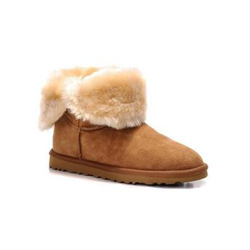 Cyber Monday Uggs Boots Bailey Button 5803 Chestnut For Women 80 68