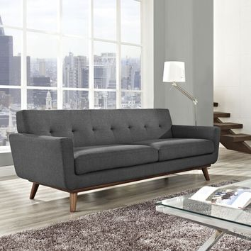 Engage Mid Century Sofa | Overstock.com Shopping - The Best Deals on Sofas & Loveseats