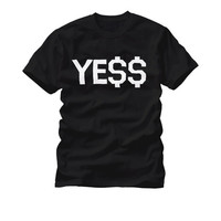 Tye2svucy YE$$ Crew Neck T Shirt Hip Hop Rap Music - Case15