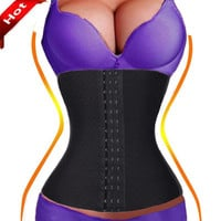 Low Freight+Good Qualitry Underbust Slimming Girdle Belt Tummy Belly Corset  Waist Trainer  Shaper